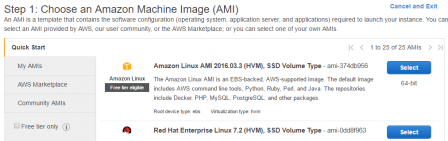 Amazon Linux AMI @AWS
